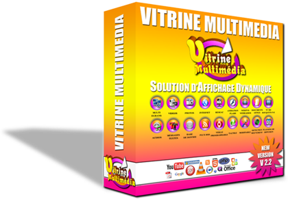 Vitrine multimedia, Digital signage free V2.39 full